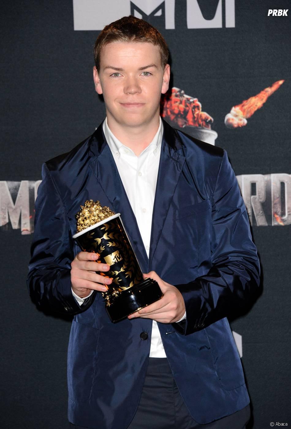 Will Poutler remporte le prix de meilleur nouvel acteur aux MTV Movie Awards 2014 le 13 avril 2014