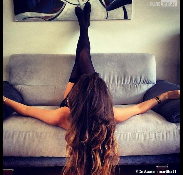 Le Bachelor 2014 : Martika s'exhibe sur Instagram