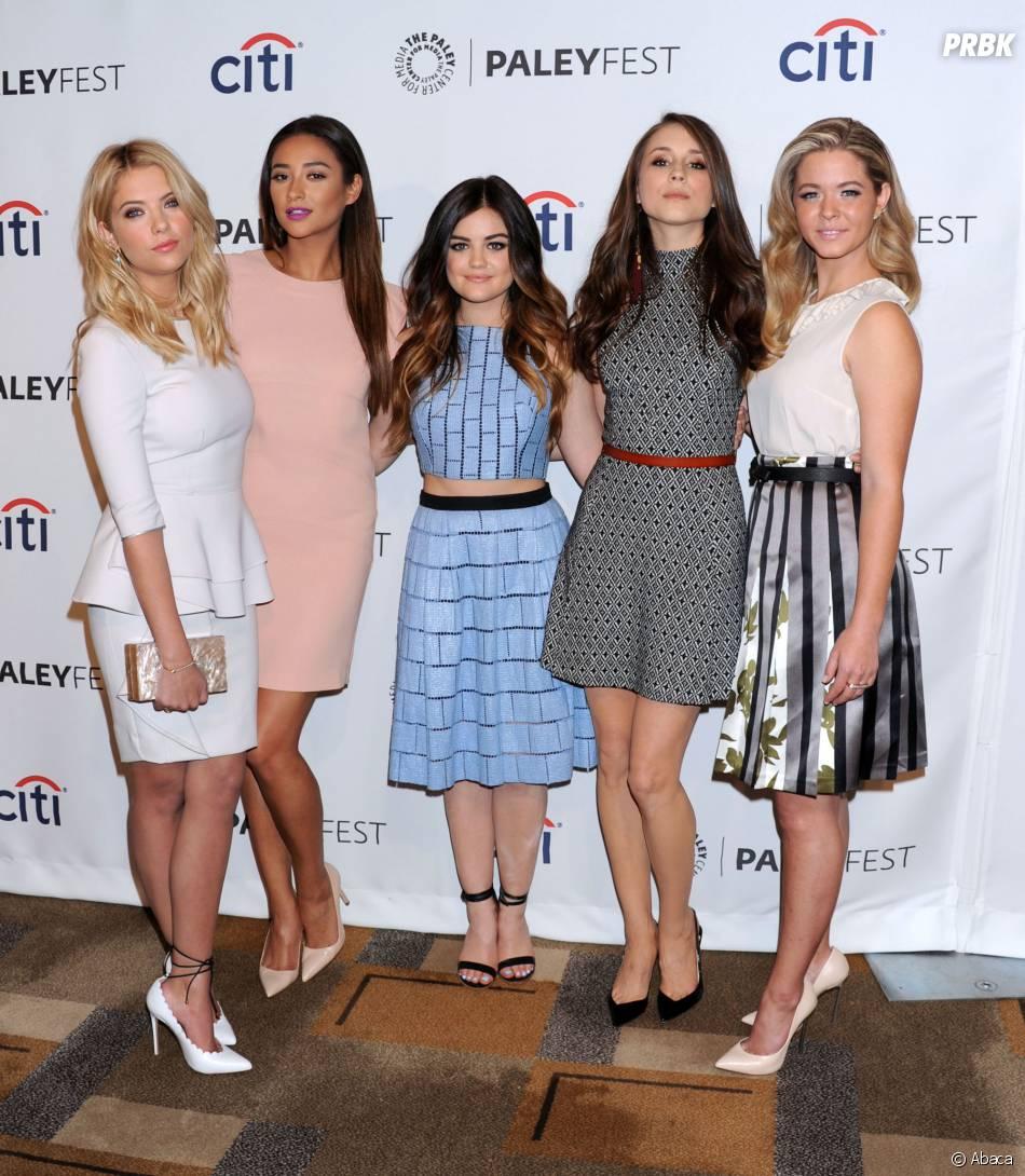 Pretty Little Liars : les actrices de la sérieau PaleyFest le 16 mars 2014