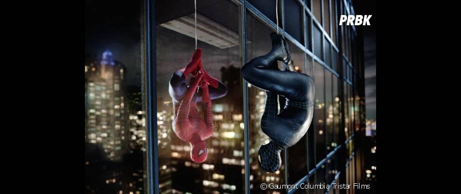 Spider-Man 3 met en scène le costume noir de l'homme-araignée
