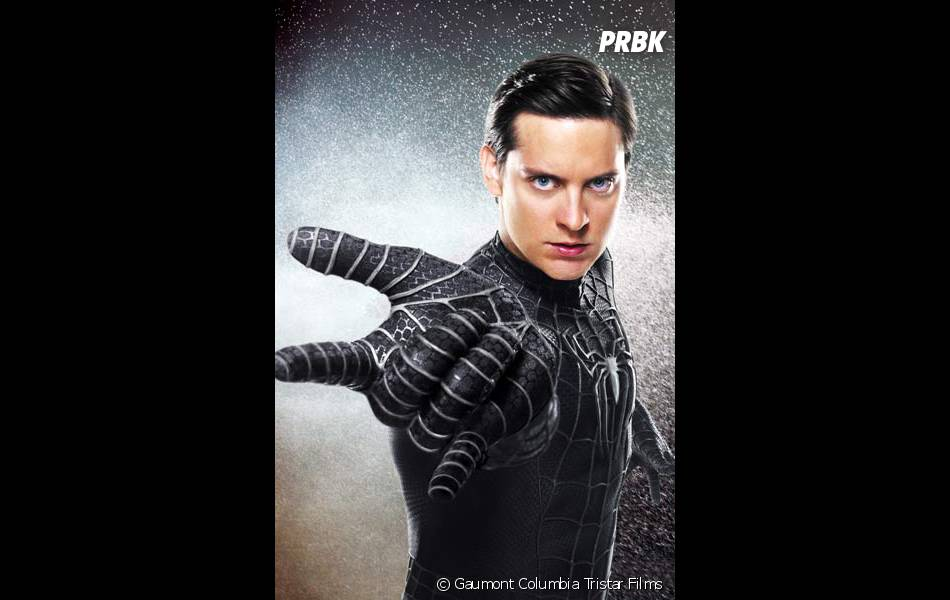 Spider-Man 3 : Peter Parker et son costume noir