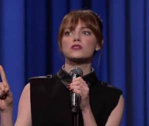 Emma Stone VS Jimmy Fallon : une battle de playback délirante dans le Tonight Show