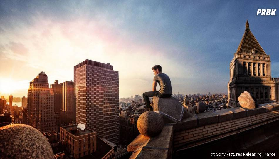 The Amazing Spider-Man 2 : Andrew Garfield sur une photo