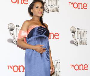 Kerry Washington est enfin maman