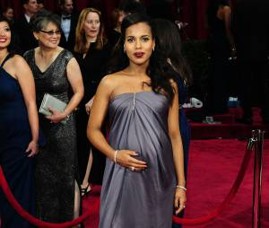 Kerry Washington : un maman secrète