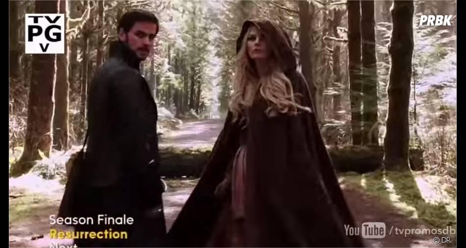 Once Upon a Time saison 3 : Emma et Hook dans la bande-annonce du final
