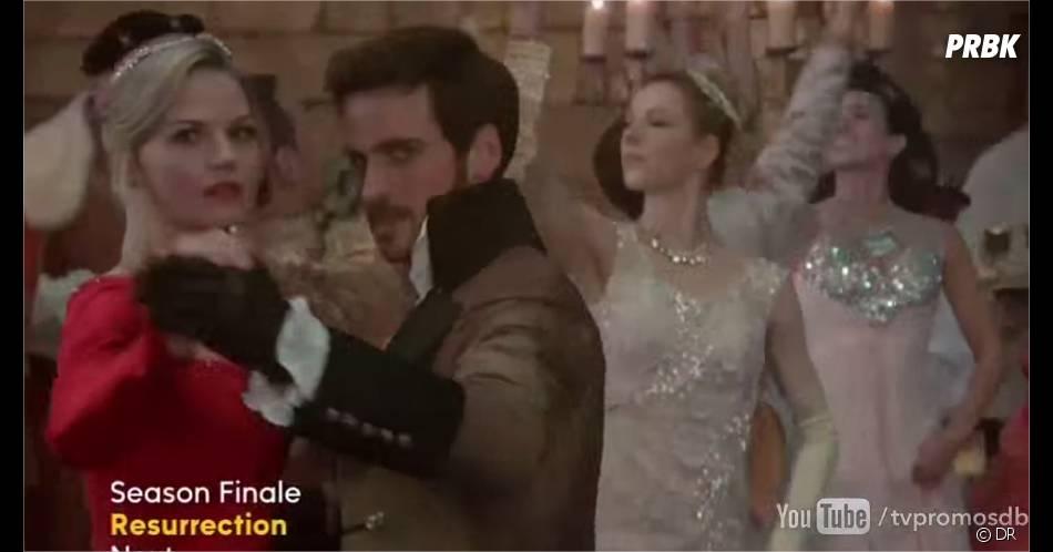 Once Upon a Time saison 3 : Emma et Hook dans la Forêt Enchantée pour le final