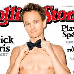 Neil Patrick Harris nu (ou presque) en Une du magazine Rolling Stone