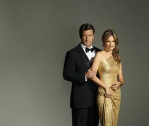 Castle saison 6 : Stana Katic et Nathan Fillion sur une photo