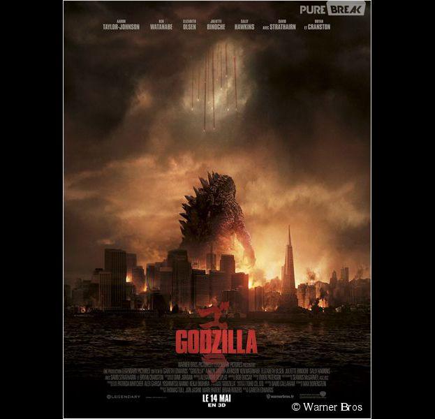 Godzilla est actuellement au cinéma