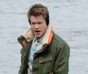 Glee saison 5 : Chord Overstreet en tournage à New York