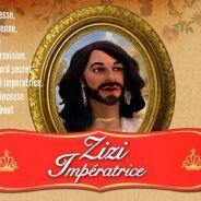 """Conchita Wurst (Eurovision 2014) devient """"Zizi impératrice"""" dans Les Guignols"""