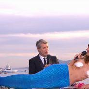 Doria Tillier sexy et (presque) seins nus pour sa météo façon sirène