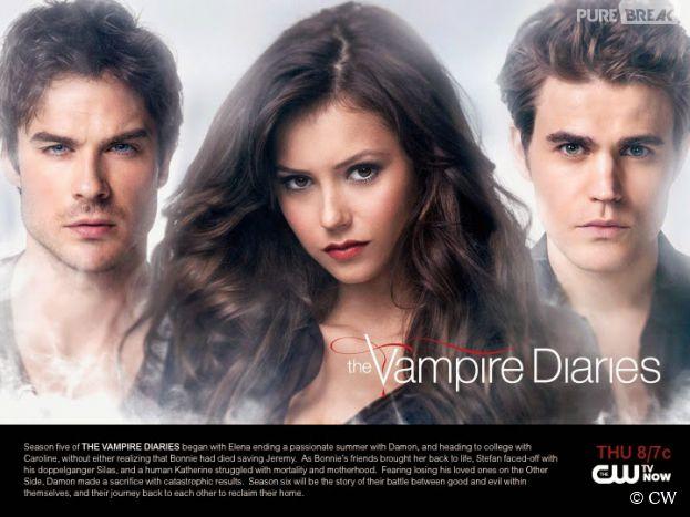 Vampire Diaries saison 6 : Damon, Elena et Stefan sur le premier poster promo