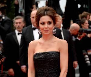Cheryl Cole sublime en Saint Laurent sur le tapis rouge de Cannes, le 19 mai 2014
