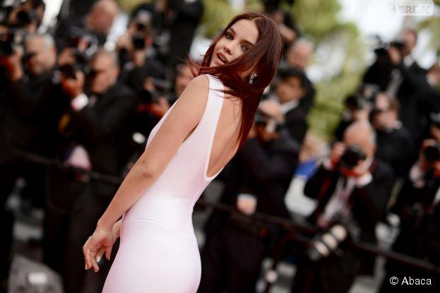 Barbara Palvin : ses fesses stars du tapis rouge, le 21 mai 2014 à Cannes