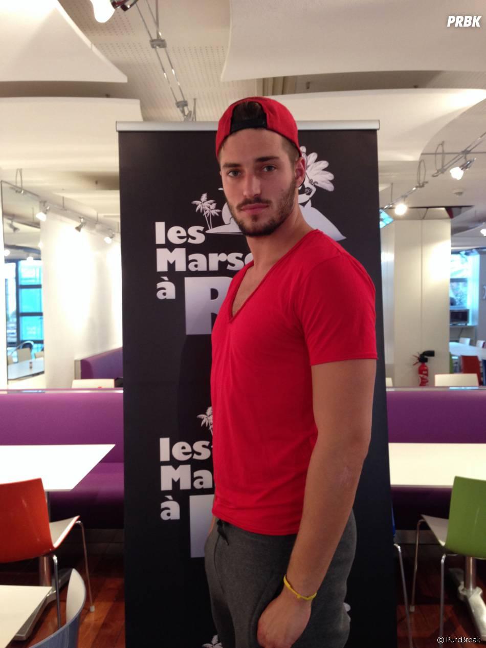 Les Marseillais à Rio : Romain lors de son interview pour PureBreak