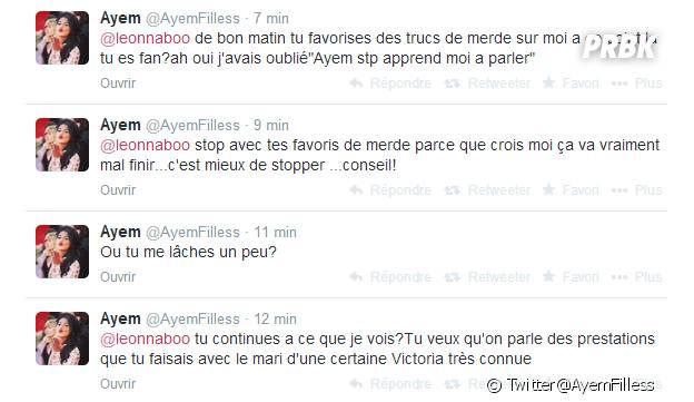 Ayem Nour clashe Nabilla Benattia sur Twitter