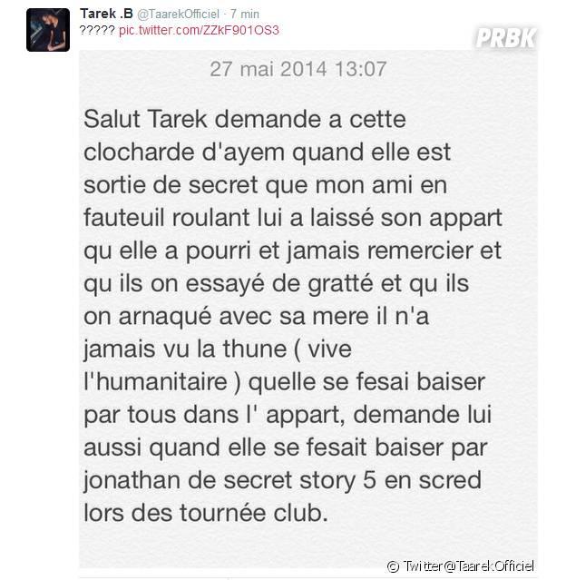 Tarek Benattia balance du dossier sur Ayem Nour