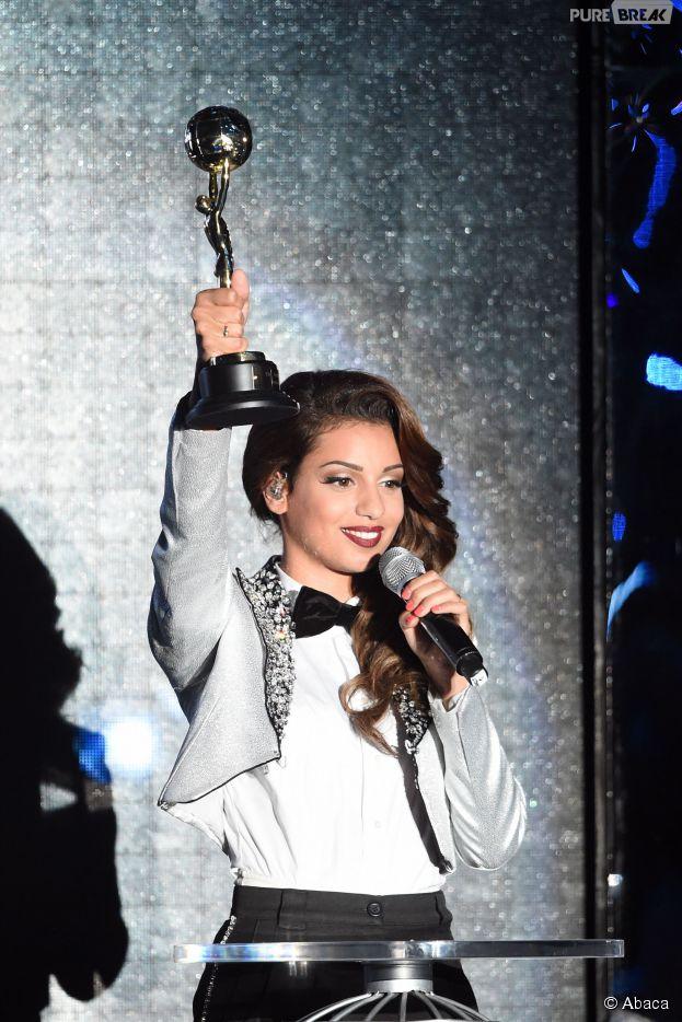 Tal à la cérémonie des Word Music Awards 2014 enregistrée à Monaco le 27 mai 2014