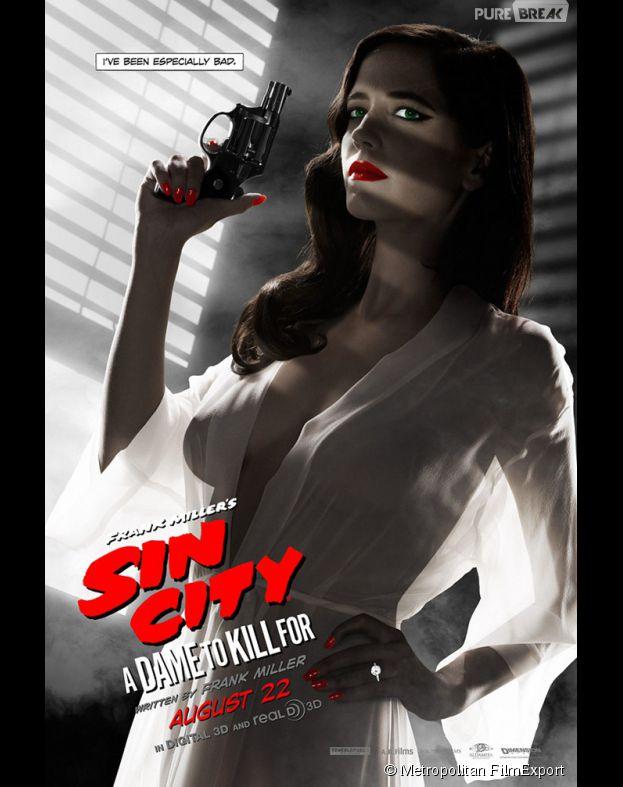 Sin City 2 avec Eva Green, au cinéma le 17 septembre 2014