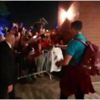 Cristiano Ronaldo : accueil hallucinant lors de son arrivée aux Etats-Unis
