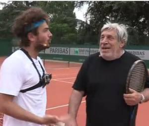 Maxime Musqua affronte Jean-Pierre Castaldi à Roland Garros 2014