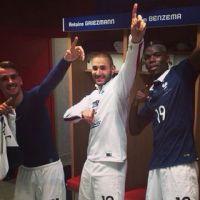 Karim Benzema, Griezmann... fête dans le vestiaire avant le départ au Brésil