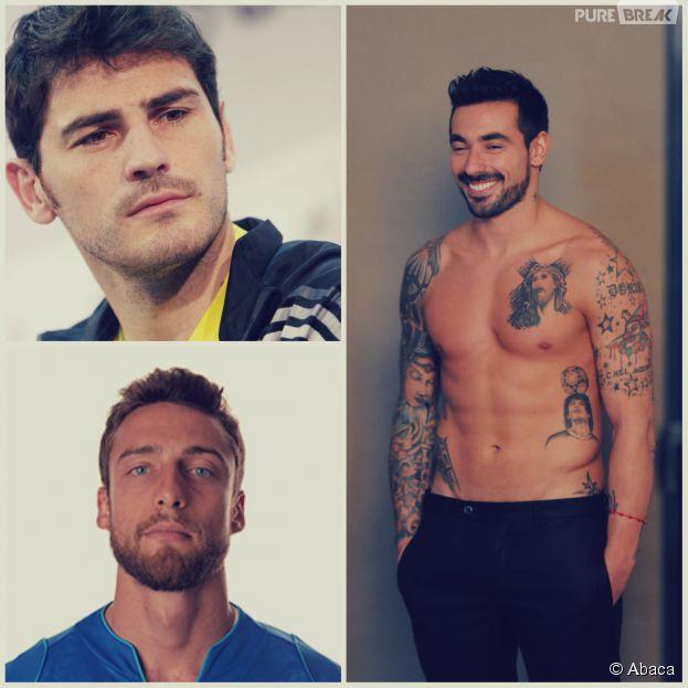 Iker Casillas, Ezequiel Lavezzi, Claudio Marchisio... notre équipe de 11 joueurs sexy pour le Brésil