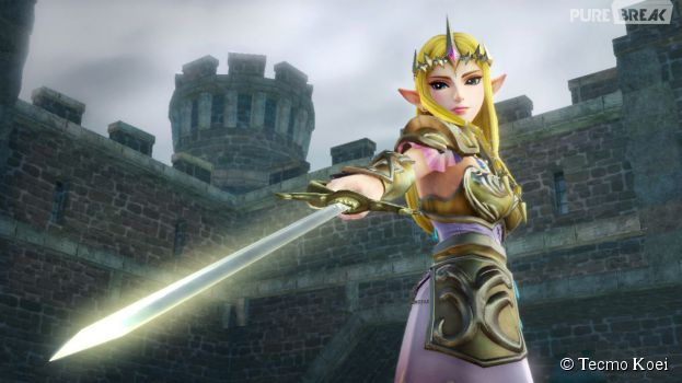 hyrule warriors la princesse zelda fera partie des personnages jouables - Link Et Zelda