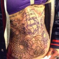 Fanny Maurer (Secret Story) : son nouveau tatouage géant dévoilé sur Instagram