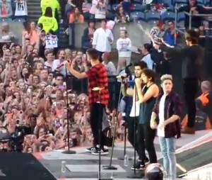 Zayn Malik : fail pendant un concert de One Direction