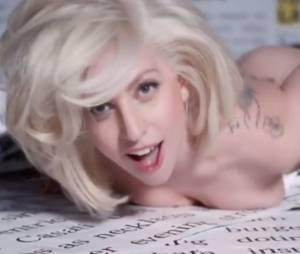 Lady Gaga nue dans son clip polémique 'Do What You Want'
