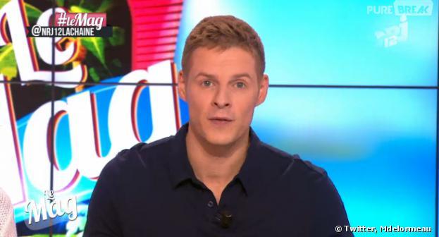 Matthieu Delormeau absent du Mag de NRJ 12 pour tourner Le Maillon faible