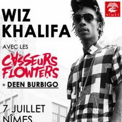 Wiz Khalifa x Casseurs Flowters x Deen Burbigo en concert aux Arènes de Nîmes !