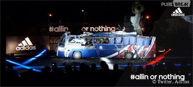 Equipe de France : le bus de Knysna transformé en oeuvre d'art