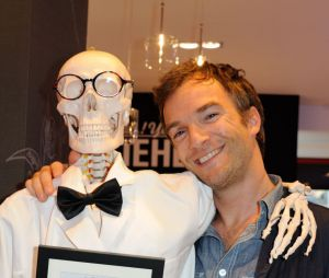 Jonathan Lambert, ici à l'ouverture d'une boutique Kiehl's à Paris le 3 juillet 2014, sera la star de Péplum