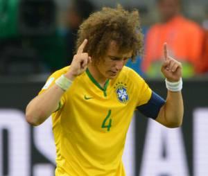 David Luiz capitaine pendant Brésil VS Allemagne, le 8 juillet 2014