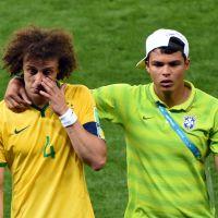 Brésil - Allemagne : David Luiz fond en larmes, Twitter s'agite