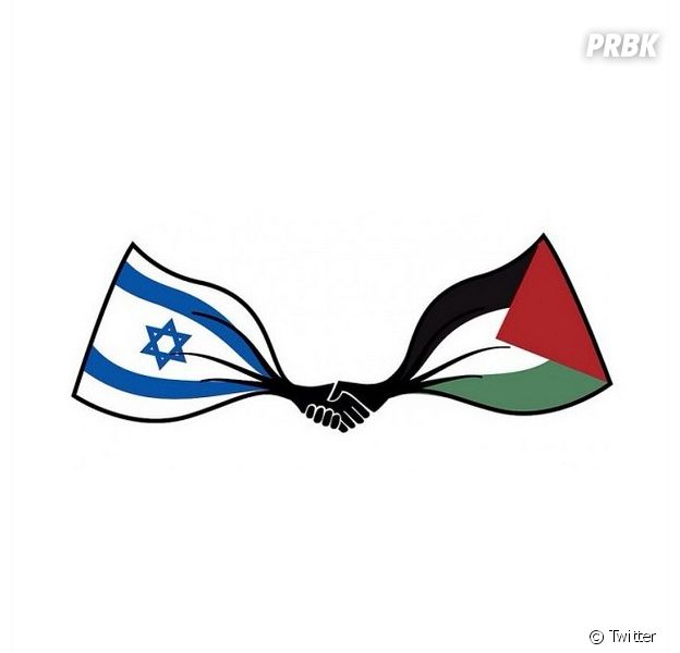 Swagg Man pour la paix israëlo-palestinienne sur Twitter