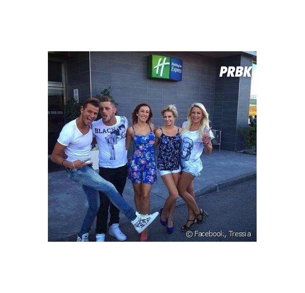 Les à Marbella : Vincent, Tressia, Jordan, Gaëlle et Adixiaen cohabitation avec un ancien candidat de Secret Story ?