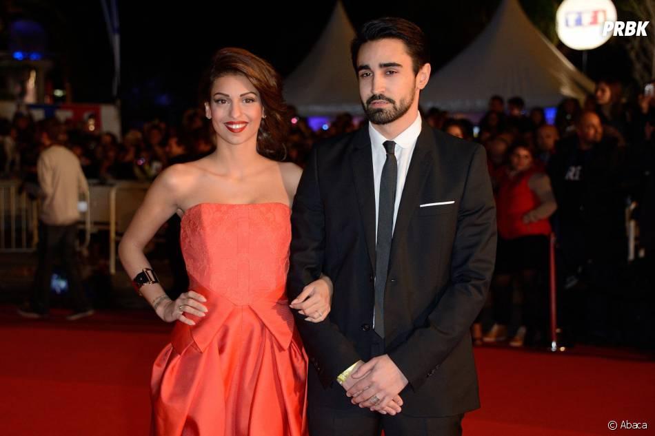 Tal et son petit-ami Anthony aux NMA 2014, le 14 décembre 2013 à Cannes