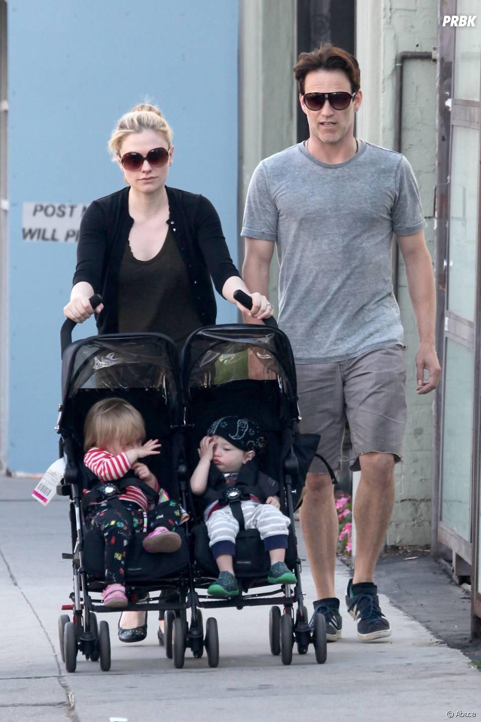 Anna Paquin et Stephen Moyer sont parents de jumeaux