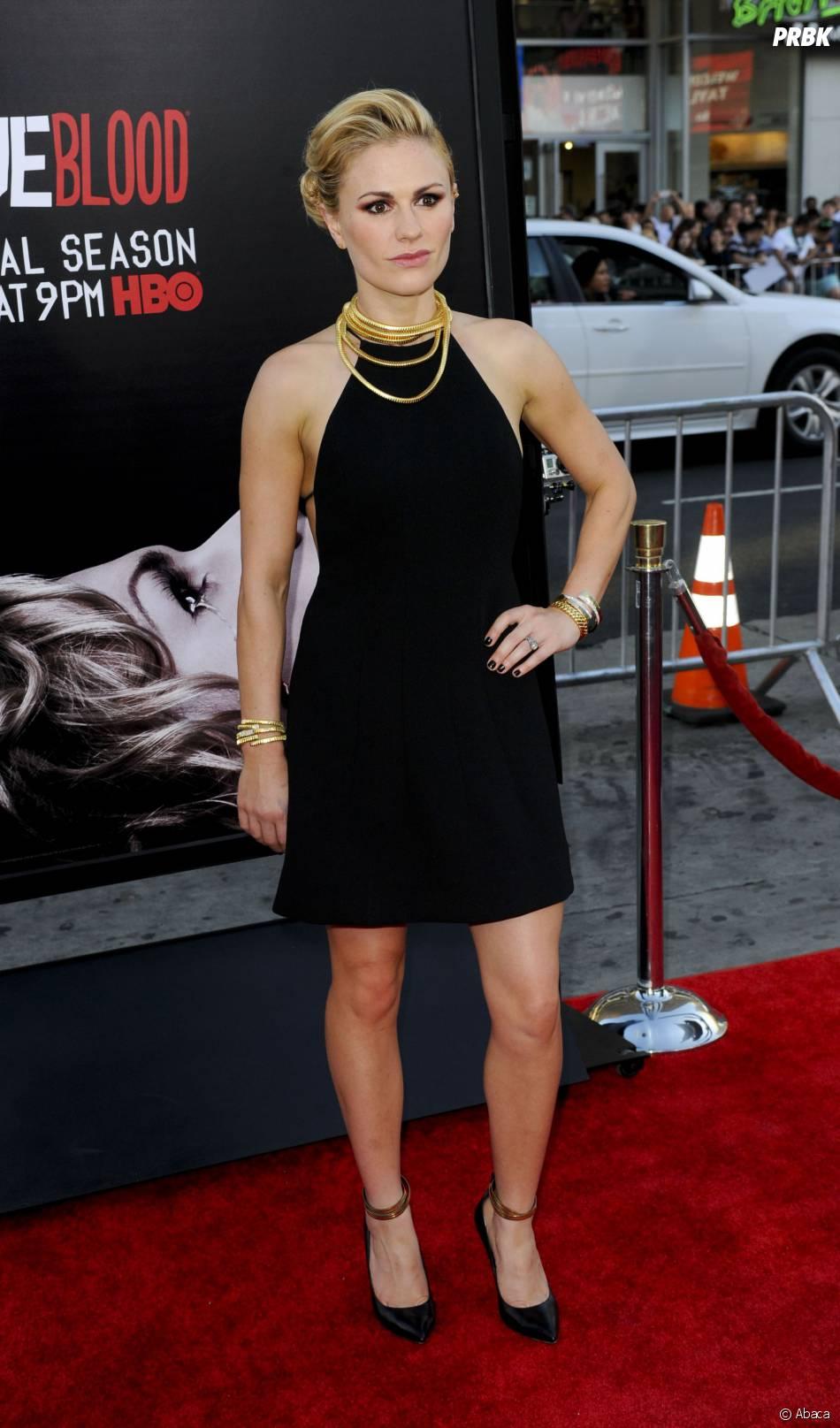 Anna Paquin lors de l'avant-première de la saison 7 de True Blood