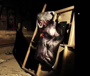 La Planète des singes - l'affrontement : fausse affiche de propagande pour une projection événement