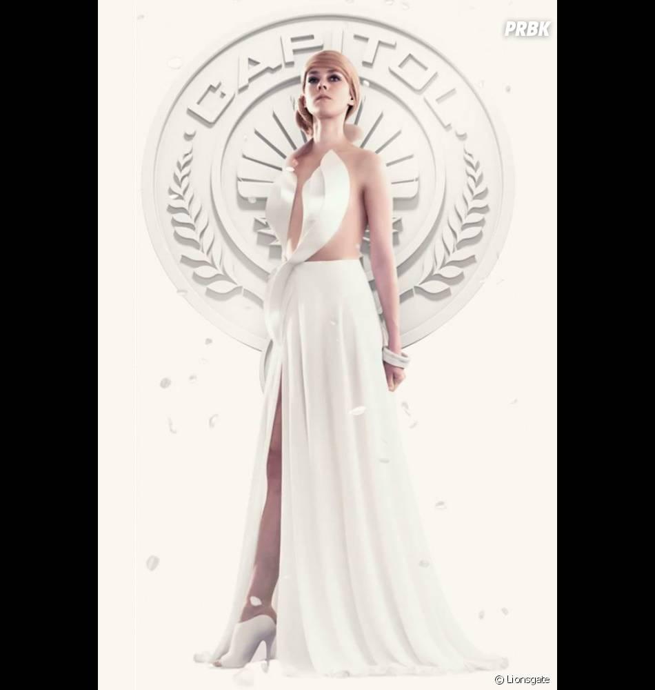 Hunger Games 3 : affiche avec Jena Malone