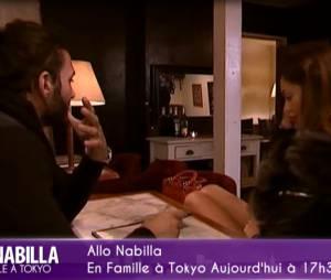 Nabilla Benattia et Thomas Vergara se retrouvent pour discuter dans Allo Nabilla