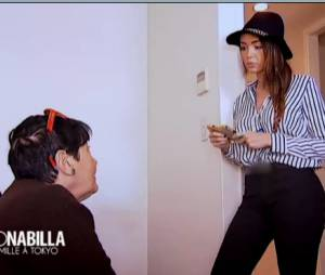 Nabilla Benattia et Mémé Livia se disputent dans Allo Nabilla