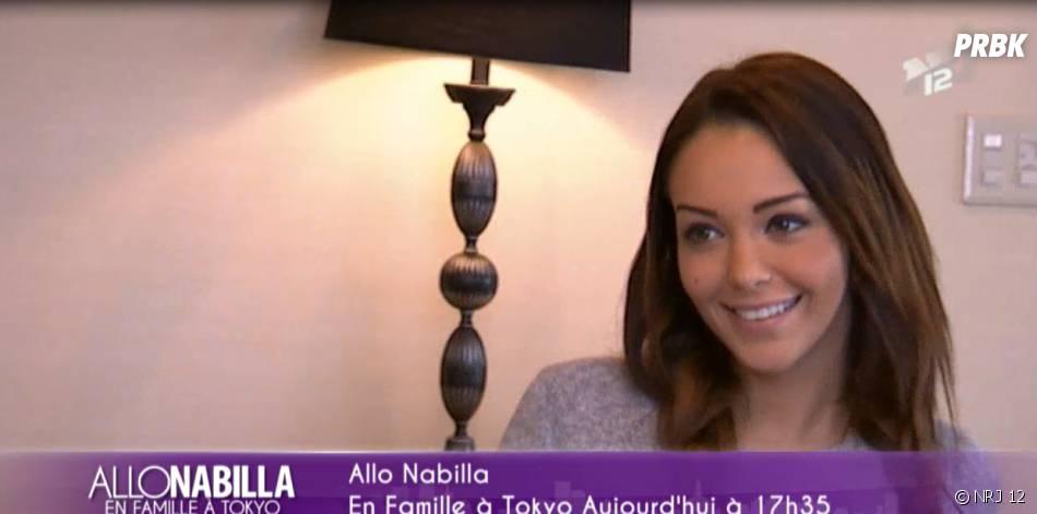 Nabilla Benattia heureuse d'aller au Maroc dans Allo Nabilla