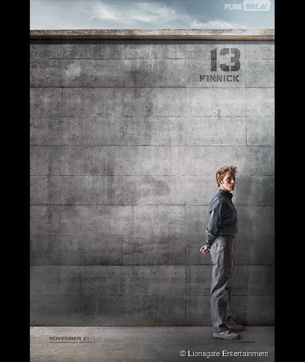 Hunger Gales 3 : Sam Claflin (Finnick) sur une affiche